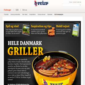 Tulip - Hele Danmark griller
