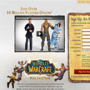 World of Warcraft - Spil WoW gratis frem til level 20