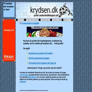 Krydsord & Sudoku - krydsen.dk