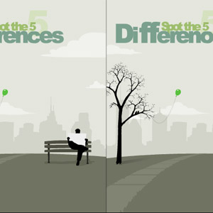 Find 5 Fejl - 5 Differences