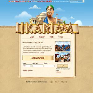 Ikariam.dk - kontrollere et imperium online
